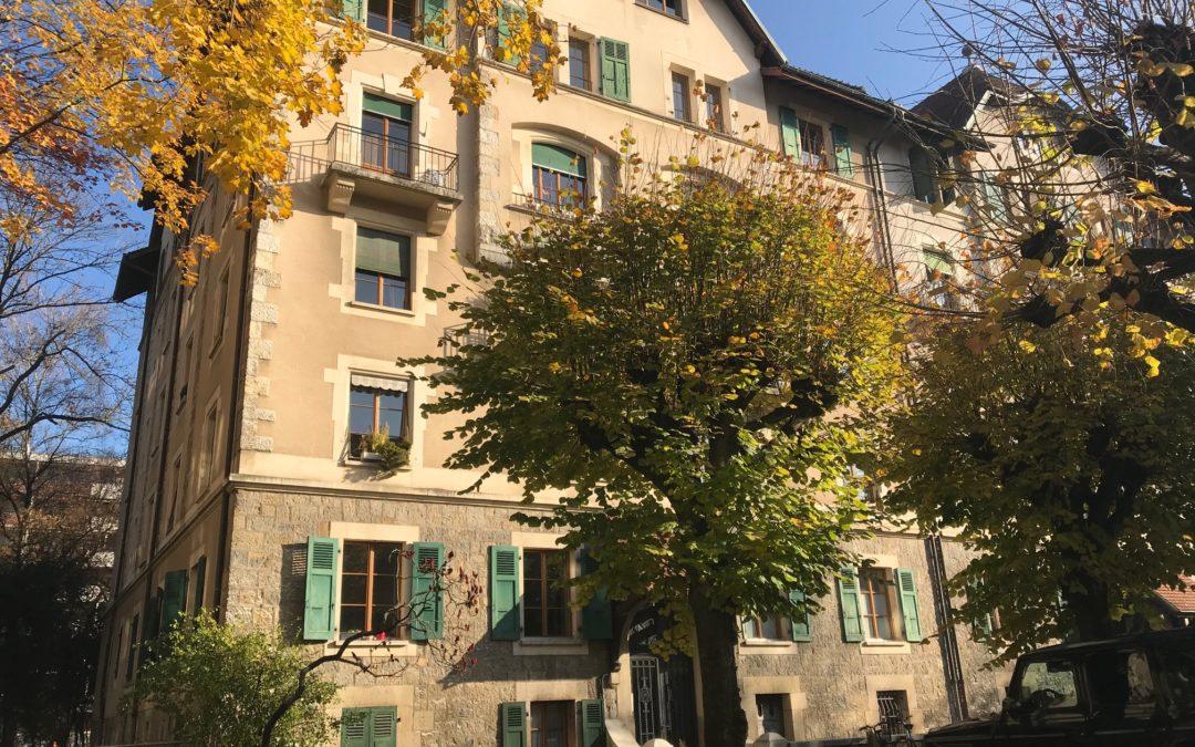CHAMPEL – Appartement de 5.5 pièces au 4ème étageCHF 3'760.-