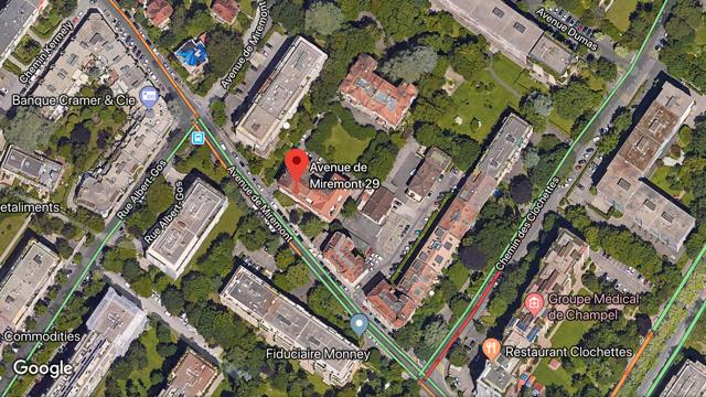 CHAMPEL – PARKING EXTERIEURCHF 280.-